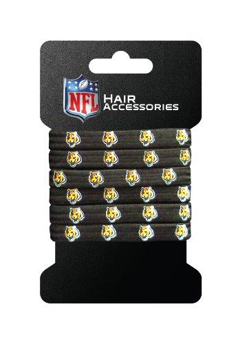 NFL Cincinnati Bengals Hair Accessory 6-Elastic Ponytail - Outlets Cincinnati