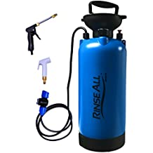 EasyGO Products Rinse All Pw10 2.1 Gallon-Car Washer Kit-Portable Camp Shower with Heavy Duty Pump Handle