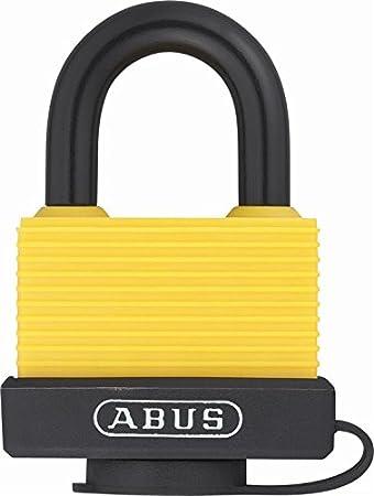 ABUS Allwetterschloss Messing-Vorhangschloss 70//45 Marine 32130