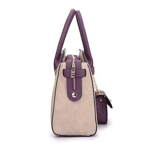 519deb54c86 MMK collection Fashion Women Purses and Handbags Ladies Designer Satchel  Handbag Tote Bag Shoulder Bags with ...