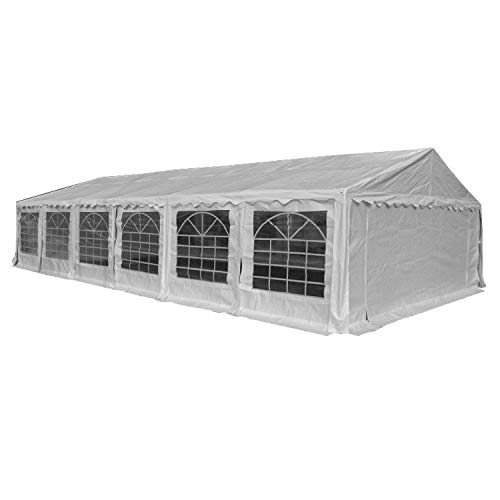 American Phoenix Canopy Tent 40x20 Heavy Duty Large White Party Tent Commercial Fair Shelter Wedding Events Tent - White (Phoenix Patio Covers)