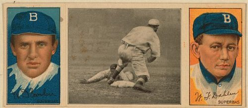 Photo: W. D. Scanlan/Wm. Dahlen, Brooklyn Superbas, 1912 . Size: 8x10 (approximately)