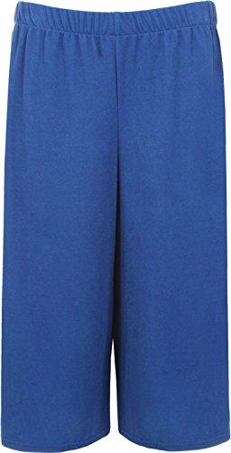 Plus Royal Pantaloncini Blue Donna Fashion vwHYw