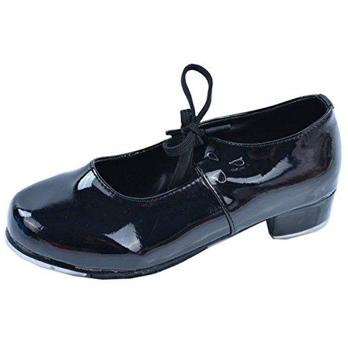 クリーナー辞書刺しますToan(トアン) DRSTT1 レディース ガールズ タップダンスシューズ 社交靴 ダンスレッスン練習用 舞台