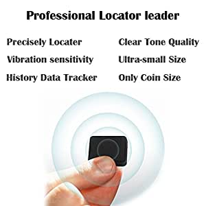 Webeauty Mini Smart Professional Anti-theft Anti-lost GPS Alarm Tracker Finder Locator For Vehicle,the Elderly,Children and Pets