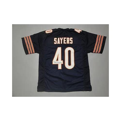 19f5960d5 Gale Sayers Signed Jersey - WITNESSED COA #W884047 - JSA Certified -  Autographed NFL Jerseys