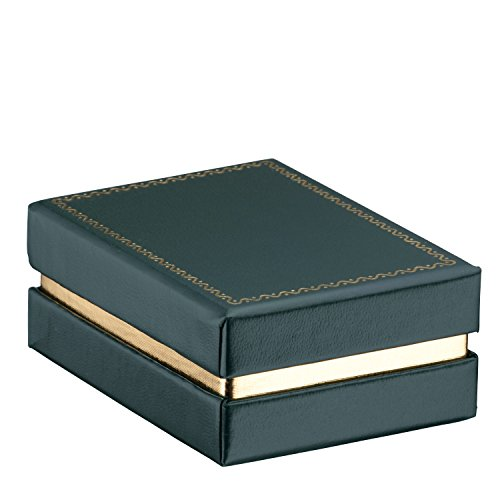 Allure Legacy Pendant Box, Green (Necklace Box Green)