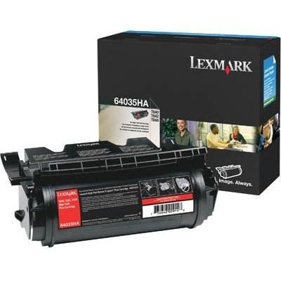 Lexmark 64035ha High Yield - Lexmark 64035HA Extra High-Yield Toner, 21000 Page-Yield, Black