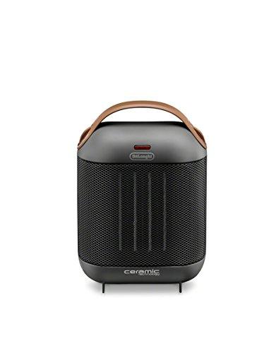 Delonghi Compact - DeLonghi HFX30C15.G Capsule Ceramic Heater, Dark Gray