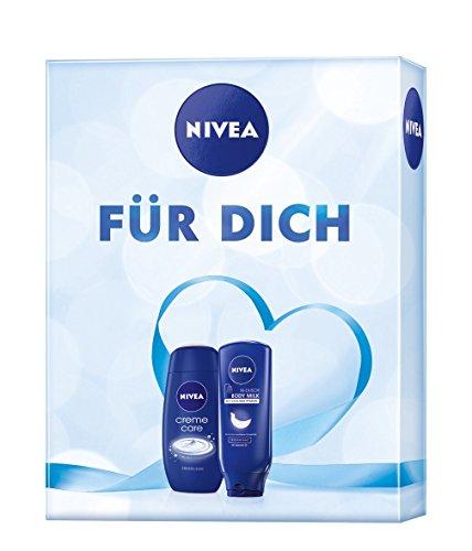 Nivea Geschenkset Duschgel und in-Dusch, für Frauen, 1er Pack (1 x 2 Stück)
