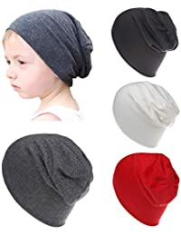 ea40b5f2679 Baby Boy s Hat Kids Cool Knit Beanie Hats Toddlers Caps (4 Pack Boy)