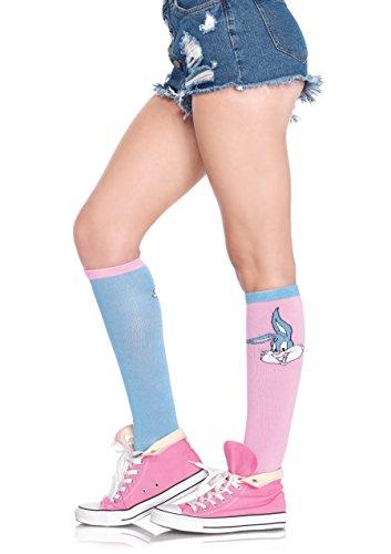 Leg Avenue Babs and Buster acrylic knee socks
