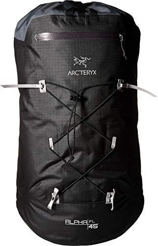 Arcteryx Tall Backpack (Arc'teryx Alpha FL 45 Backpack (Black, Regular))