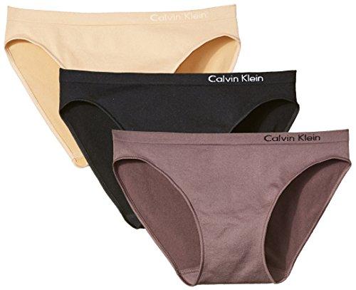 Amazon.com: Calvin Klein Womens Seamless Contrast recortar ...