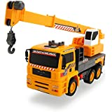 Dickie Toys Air Pump Action Mobile Crane Truck, 12""