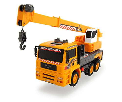 (Dickie Toys Air Pump Action Mobile Crane Truck, 12