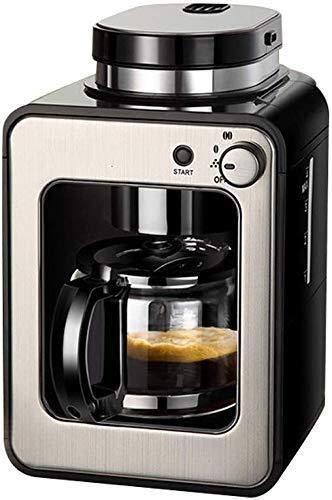 COOLSHOPY Máquina de café filtro anti-goteo sistema de cafetera espresso cafetera hogar pequeño automático inteligente…