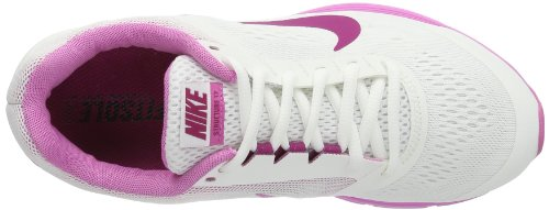 Nike Zoom Structure +17 615588-105 - Zapatos para correr para mujer, color blanco, talla 36.5 Blanco (Weiß (Summit White/Bright Magenta-Red Violet))