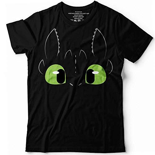 Night Fury Dragon Toothless Halloween Costume Customized Handmade T-Shirt Hoodie/Long Sleeve/Tank Top/Sweatshirt