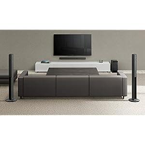 Sony HT-RT4 600W 5.1 CH Soundbar System with Tall Rear Speakers – Black