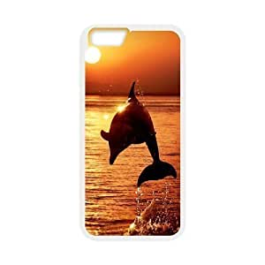 Diy Cute Dolphin Phone Case Cover For SamSung Galaxy Note 3 White Shell Phone JFLIFE(TM) [Pattern-4]