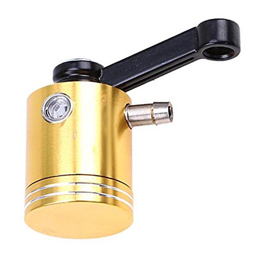 YouN Motorcycle Brake Clutch Master Cylinder Fluid Reservoir Tank Oil Cup(Gold): Computers & Accessories