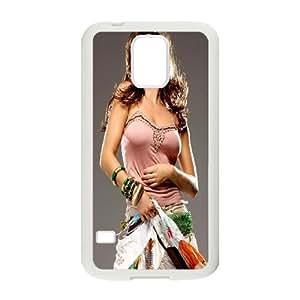 Samsung Galaxy S5 Cell Phone Case White Alicia Machado BNY_6966446