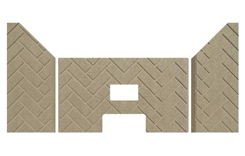 Lennox Whitfield Traditions T300P Fire-Tek Herringbone Firebrick - Herringbone Firebrick