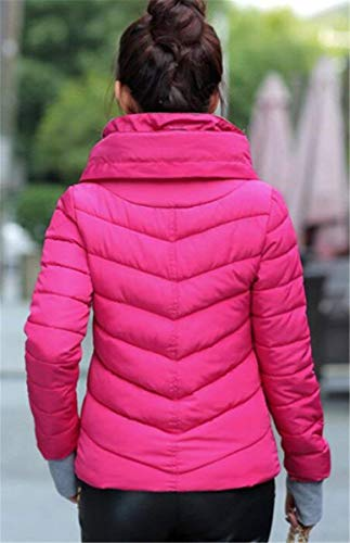 Solid Zipper Cappotto Down Capispalla Accogliente Rosarot Coulisse Vestiti Saoye Colori Winter Hooded Lunga Short Jacket Manica Dolcevita Women Con Frontali Fashion Tasche H6AqY