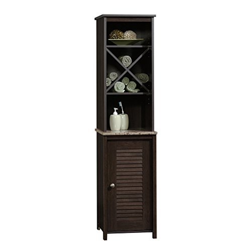 "Sauder 414034 Peppercorn Linen Tower, L: 14.72"" x W: 15.51"""