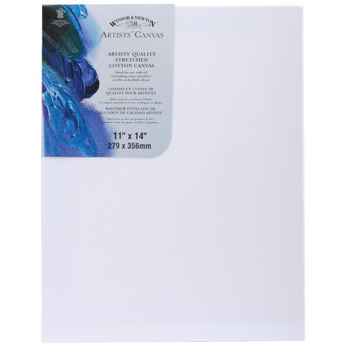 Winsor & Newton Stretched Artists' Canvas: White 11x14