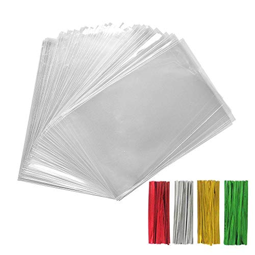 (200PCS Treat Bags with 200 4