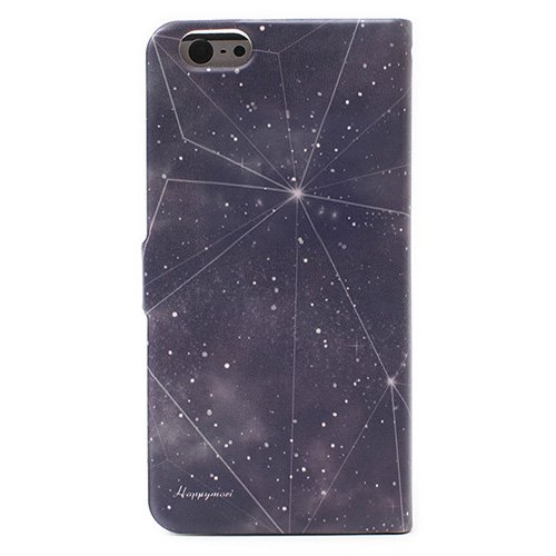 Happymori Gossip Girl Diary Case for iPhone 6 Plus (Black Hole)