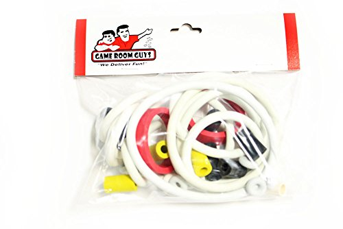 Game Room Guys Williams Bad Cats Pinball White Rubber Ring Kit