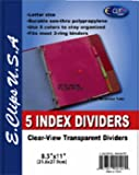 Ddi - Index Dividers (1 pack of 72 items)