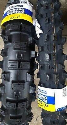 Reifen Michelin Enduro 90 90 21 54r 120 90 18 65r Tt Medium Mischen Auto