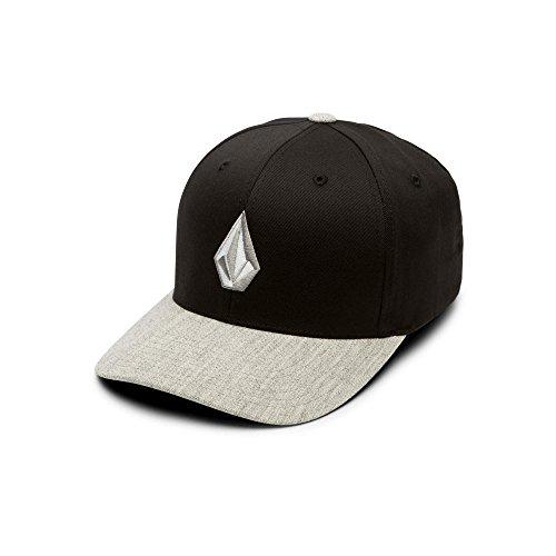 Volcom Men's Full Stone Heather Flexfit Stretch Twill Hat, Storm, Large/Extra Large - Full Stone Stretch Hat