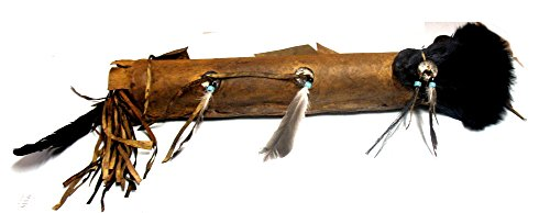 Authentic Native American Hand Made Quiver and Arrows with Fox Head Pelt Skin