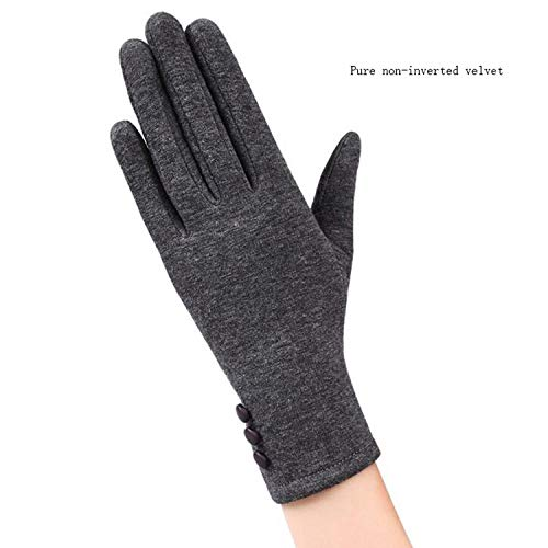 Elegant Ladies Touch Screen Warm Lace Gloves Women