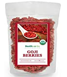 Best Goji Berries - Healthworks Goji Berries Raw Organic, 1lb Review