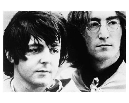 8x10 Poster Print Glossy The Beatles John Lennon & Paul - Paul Mccartney Poster