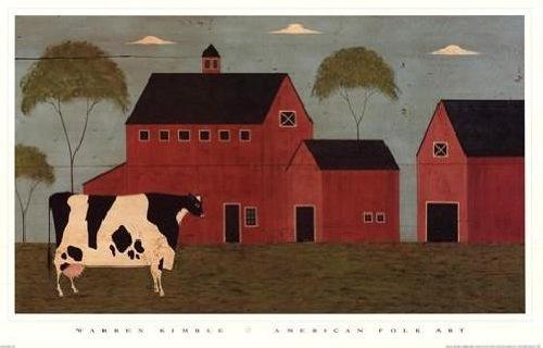Warren Kimble - Nellie's Barn