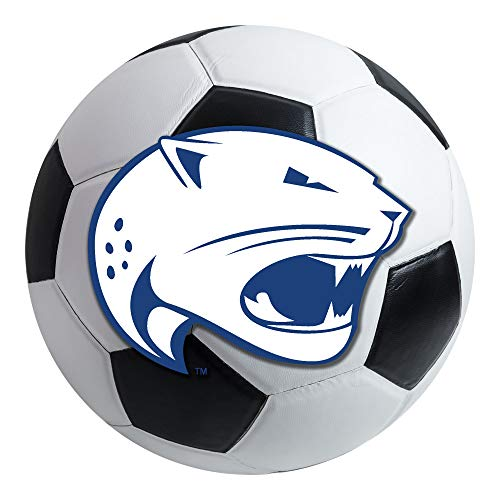 FANMATS NCAA University of South Alabama Jaguars Nylon Face Soccer Ball Rug