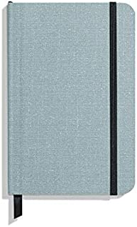product image for Shinola Journal, Soft Linen, Ruled, Harbor Blue (3.75x5.5)