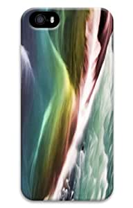 iPhone 5S Customized Unique Print Design Rainbow Gullfoss iPhone 5 5S Cases 3D by lolosakes