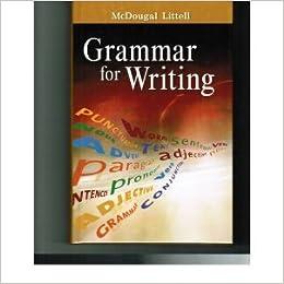 Mcdougal littell literature grammar for writing grade 11 american mcdougal littell literature grammar for writing grade 11 american literature mcdougal littel 9780618566211 amazon books fandeluxe Images