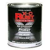 True Value Mfg Company Xo Qt Red Mtl Primer (Pack Of 4) Brush-On Metal Primers