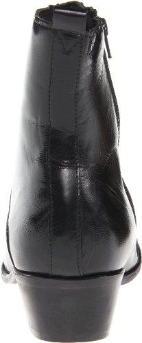 Toe Zipper Stacy Side Plain Santos Men's Boot Adams Black pUwYwxZqI