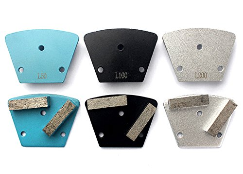 12 pieces Standard Size Diamond Grinding Plate 2 - Segmented For Grinding Concrete