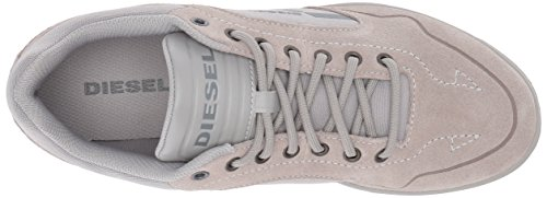 41eFrHjIl-L Diesel Men's Happy Hours S-Aarrow Sneaker, Dove/Grey, 9.5 M US